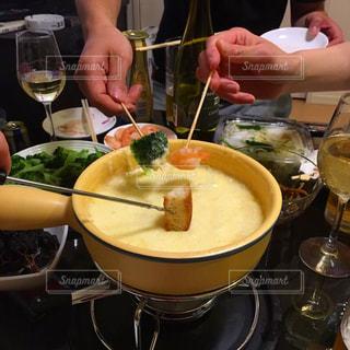 チーズフォンデュパーティーの写真・画像素材[1294545]