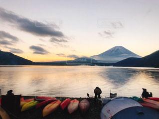 美しい富士山の写真・画像素材[1644256]