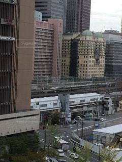都市の高層ビルの写真・画像素材[1296417]