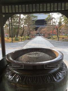 近くに鍋のアップの写真・画像素材[1303680]