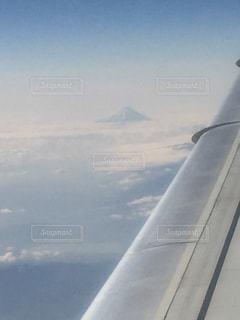窓から見えた富士山。の写真・画像素材[1313166]