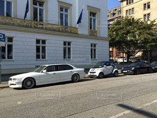 ドイツの路上駐車の写真・画像素材[1300590]