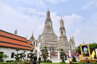 タイ・バンコクのワットアルンの写真・画像素材[1464592]