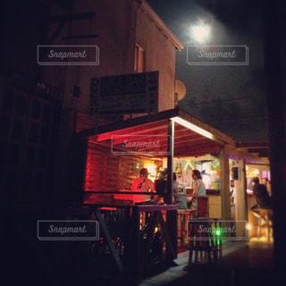 カリブの島のレストランの写真・画像素材[1313311]