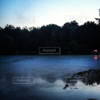 湖の写真・画像素材[1328529]