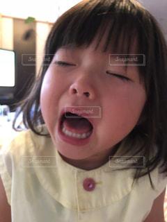 クローズ アップの女の子のの写真・画像素材[1295868]