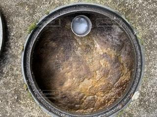 清掃前の合併処理浄化槽の写真・画像素材[2337375]