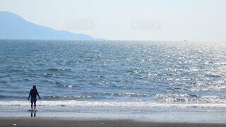 海と人の写真・画像素材[4610715]