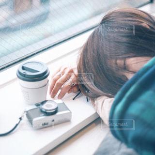 お昼寝の写真・画像素材[1297022]