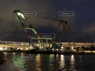 工場夜景の写真・画像素材[2356151]