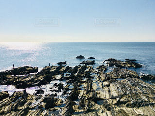 荒崎海岸 岩礁の写真・画像素材[1308617]