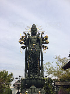 興徳寺のお釈迦様の写真・画像素材[1308096]