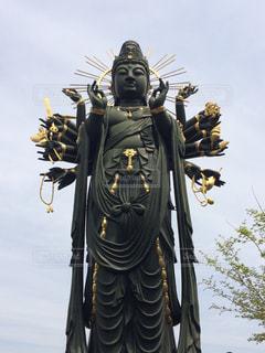 興徳寺のお釈迦様の写真・画像素材[1308097]