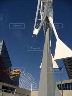 海遊館と観覧車と風車の写真・画像素材[1315919]