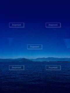 琵琶湖から北近江を望むの写真・画像素材[1316300]