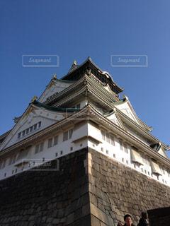 大阪城の写真・画像素材[1316453]
