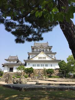 岸和田城と八陣の庭の写真・画像素材[1322369]