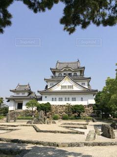 岸和田城と八陣の庭の写真・画像素材[1322416]