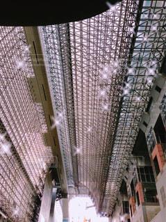 京都駅ビルの屋根の写真・画像素材[1324325]