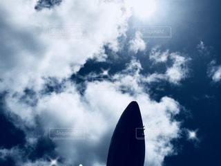 着陸時の写真・画像素材[1324333]