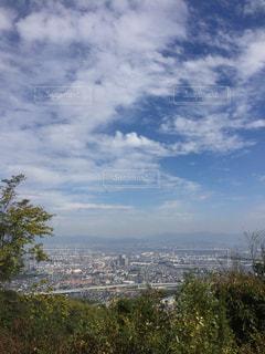 天王山山頂からの風景の写真・画像素材[1327023]