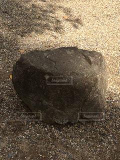 秀吉の腰掛の石の写真・画像素材[1327085]
