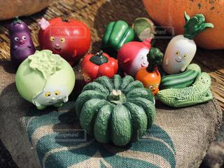 野菜の仲間たちの写真・画像素材[2444157]