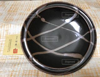 益子焼 日向窯 須藤直作 大皿の写真・画像素材[1297396]