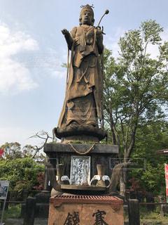 舘山寺温泉の観音像の写真・画像素材[1304000]