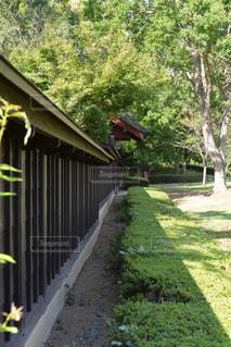 日本建築の塀の写真・画像素材[1306686]