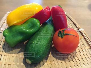 夏野菜カレーを食べようの写真・画像素材[1298243]