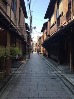 京都の町並みの写真・画像素材[1303295]