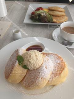 幸せのパンケーキの写真・画像素材[1307597]