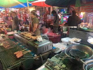 南国の市場の写真・画像素材[1299216]