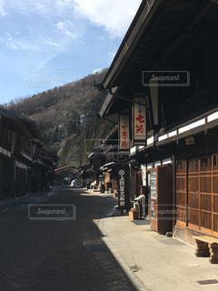奈良井宿の写真・画像素材[1305706]