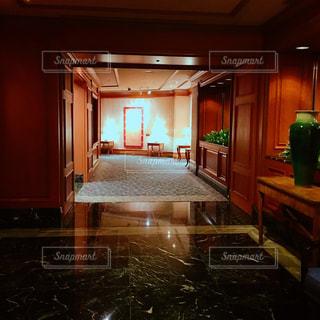 エレベーターホールからの写真・画像素材[1314971]