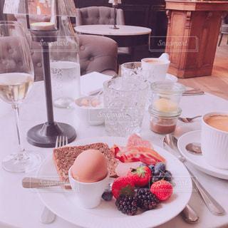 エレガントな朝食の写真・画像素材[1323322]