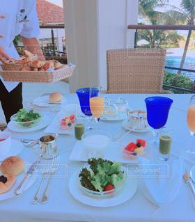 優雅な朝食の写真・画像素材[1338967]