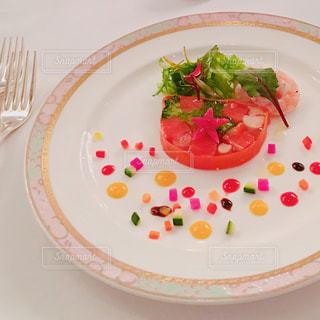 トマトのサラダの写真・画像素材[1342867]