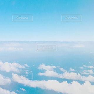 雲の上の写真・画像素材[1342914]