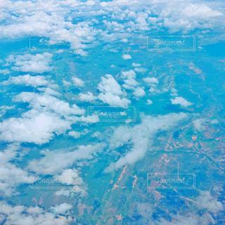 空と陸が重なる時の写真・画像素材[1343991]