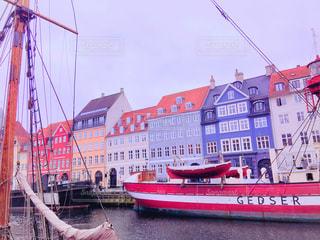 素敵な船がある風景の写真・画像素材[1356931]