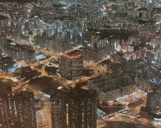 100万ドルの夜景の写真・画像素材[1389595]