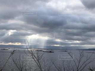 国道10号線から見た風景の写真・画像素材[2028323]