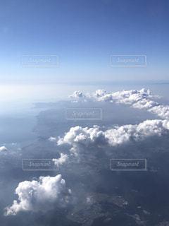 空の雲の群の写真・画像素材[2772818]