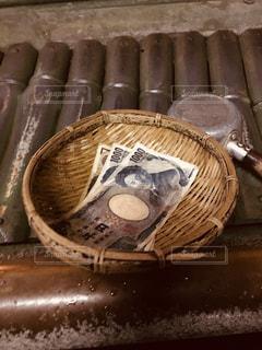 木製ベンチの写真・画像素材[1303287]