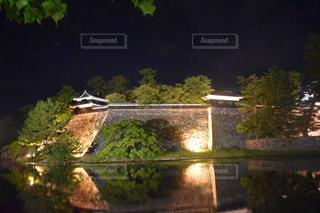 国宝 松江城の写真・画像素材[1419284]