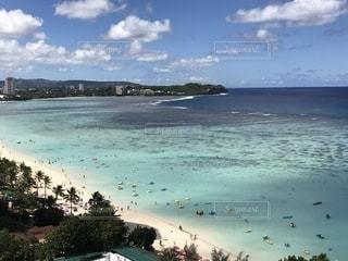 美しい南の島の海の写真・画像素材[1303733]