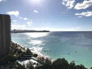 南の島の海と空の写真・画像素材[1303793]