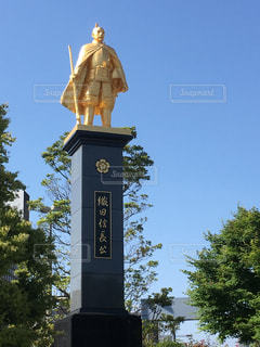 駅前の織田信長公の写真・画像素材[1443398]
